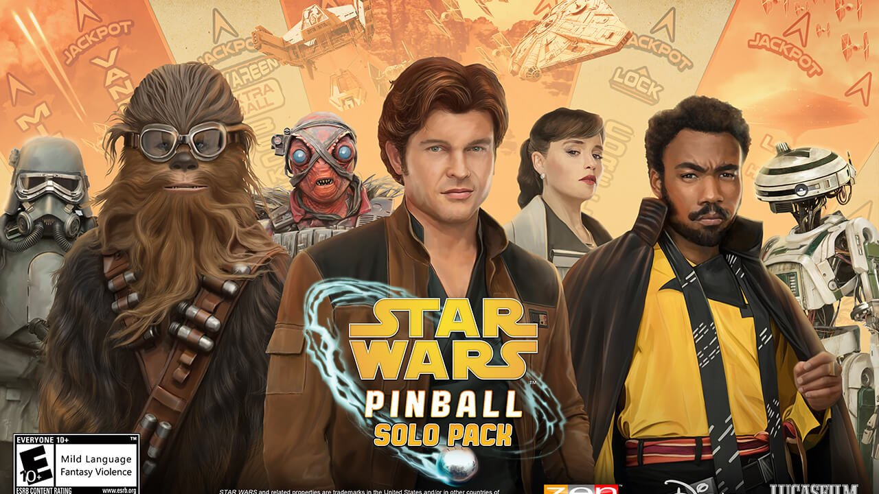 Solo: A Star Wars Story is Coming to Pinball FX3