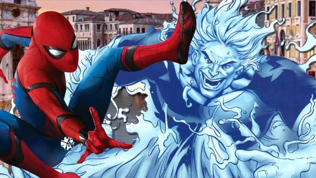 Did Tom Holland Just Tease Hydro-Man For Spider-Man: Far From Home?