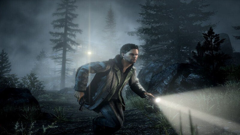 Supernatural video game Alan Wake