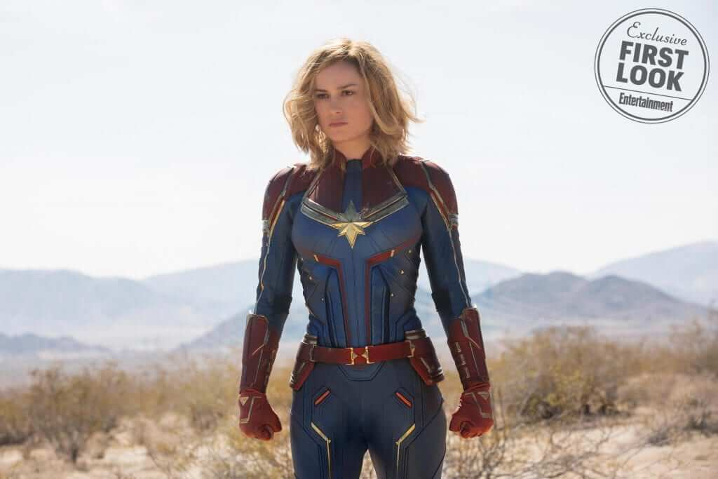 Captain Marvel Exclusive Photos Revealed