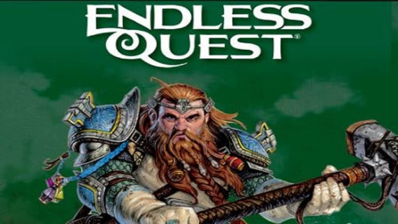 Endless Quest Presents Choose Your Own Dungeons and Dragons Adventure Books