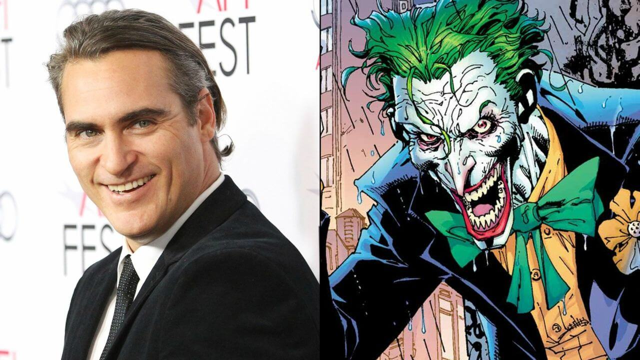 Joaquin Phoenix Joker Makeup Revealed