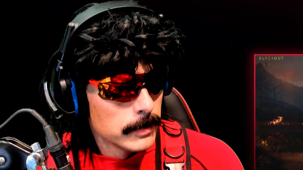 Twitch Personality Dr Disrespect Ends His Stream After Home Is Fired Upon