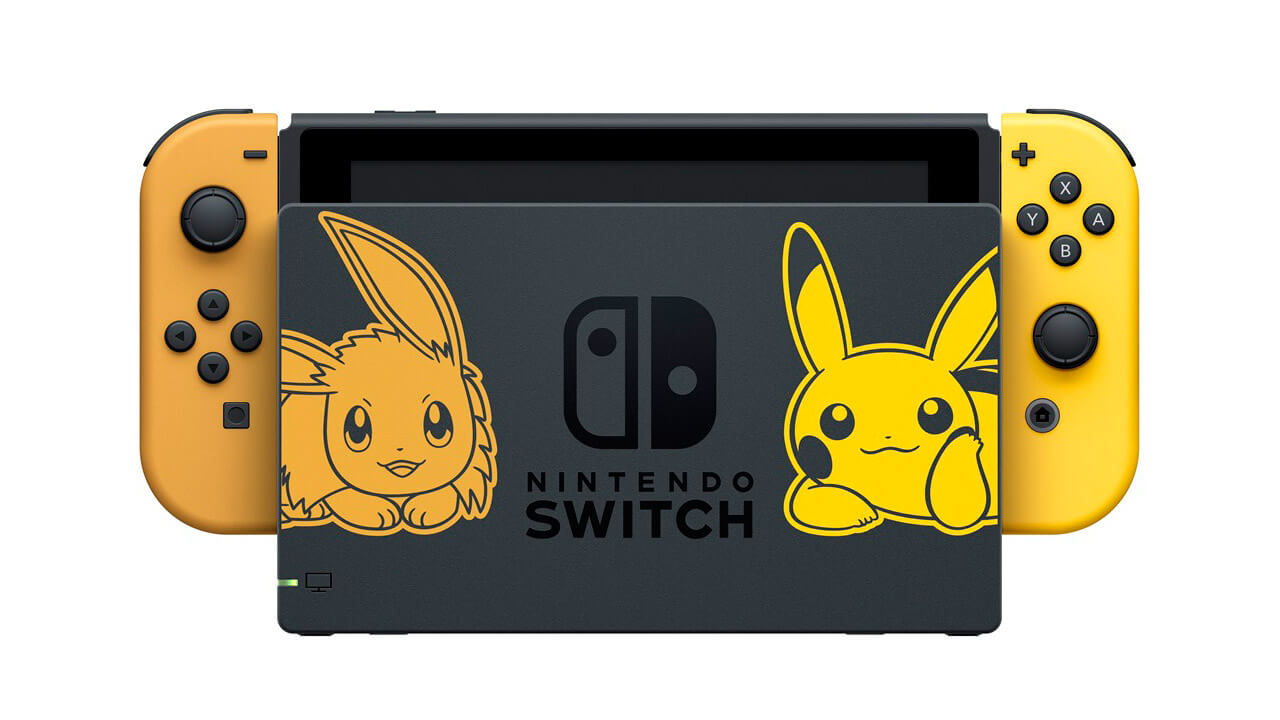 Nintendo Switch Pikachu & Eevee Edition Announced