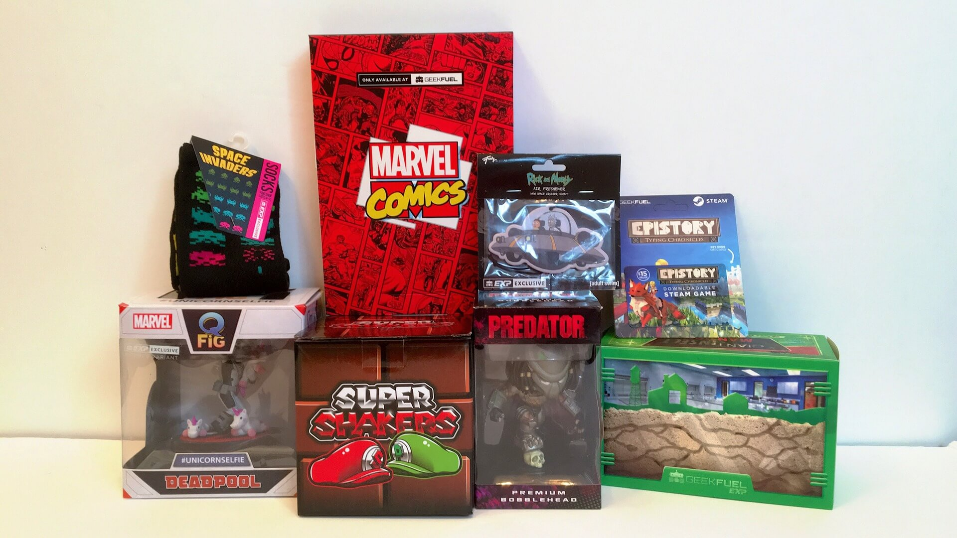 Geek Fuel EXP: Ant-Man, Spider-Man, Mario Brothers & More- Review