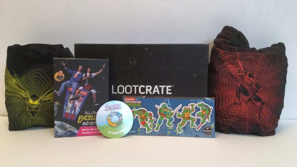 Loot Crate: Courage, Colossal and Mayhem in a Box - Review