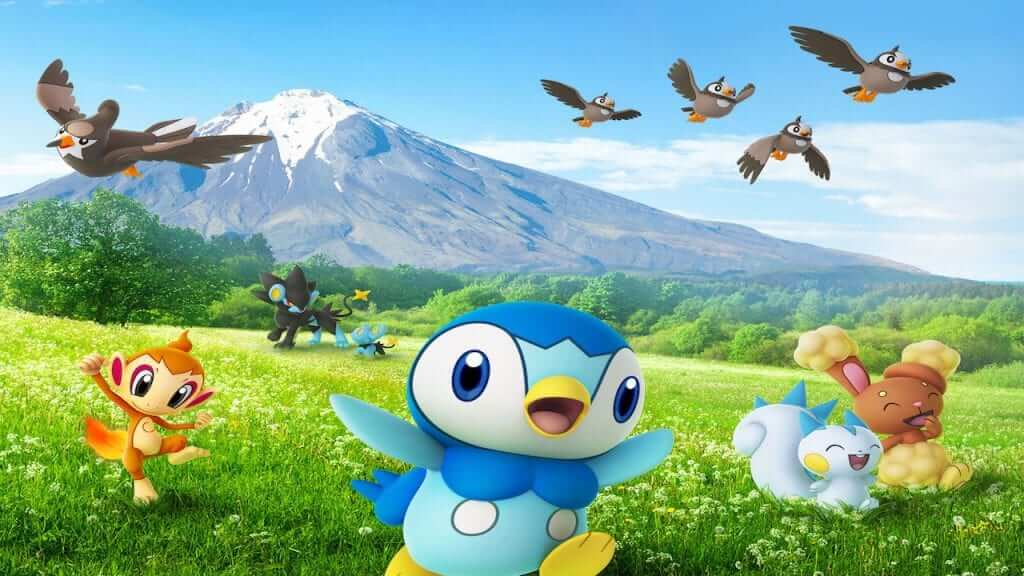 Sinnoh Pokemon Now Live in Pokemon Go