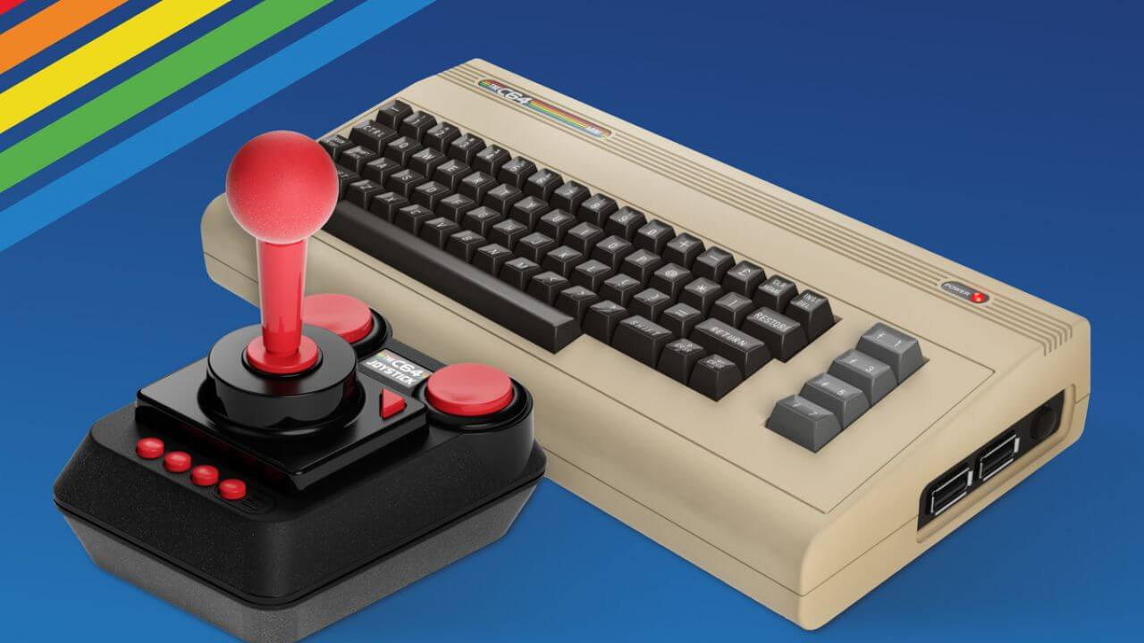The C64 Mini Is Available Now In North America