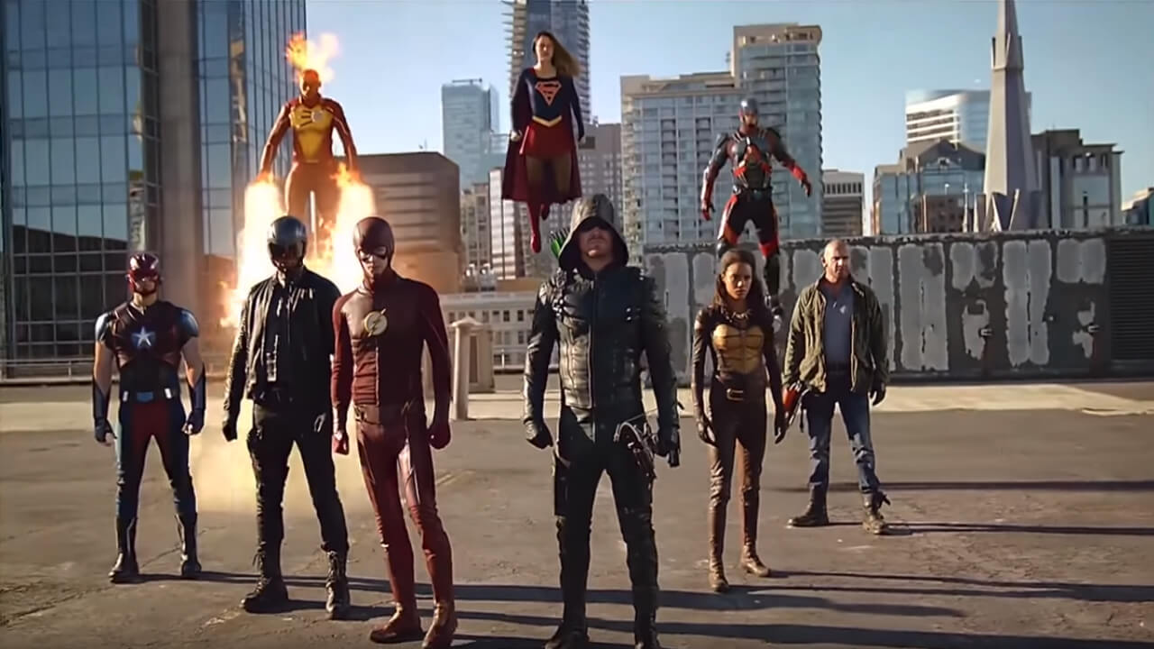 CW Releases Arrowverse
