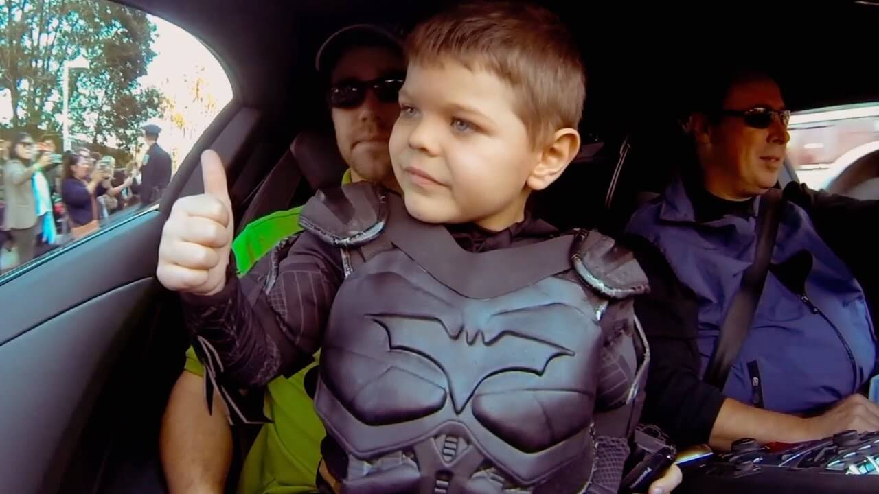 Batkid Manages to Defeat Cancer