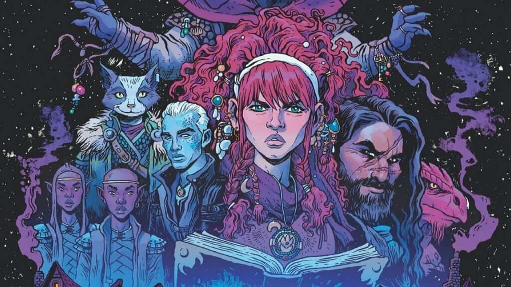 Dungeons and Dragons: A Darkened Wish Comic Book Series Interview