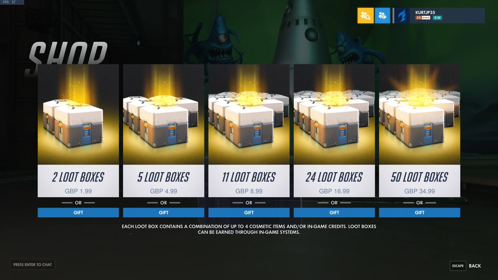 Loot Boxes In Video Games To Be Investigated By The U.S Federal Trade Committee
