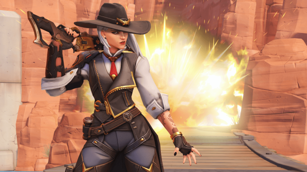Ashe Joins Overwatch With Her Sidekick B.O.B As Hero 29