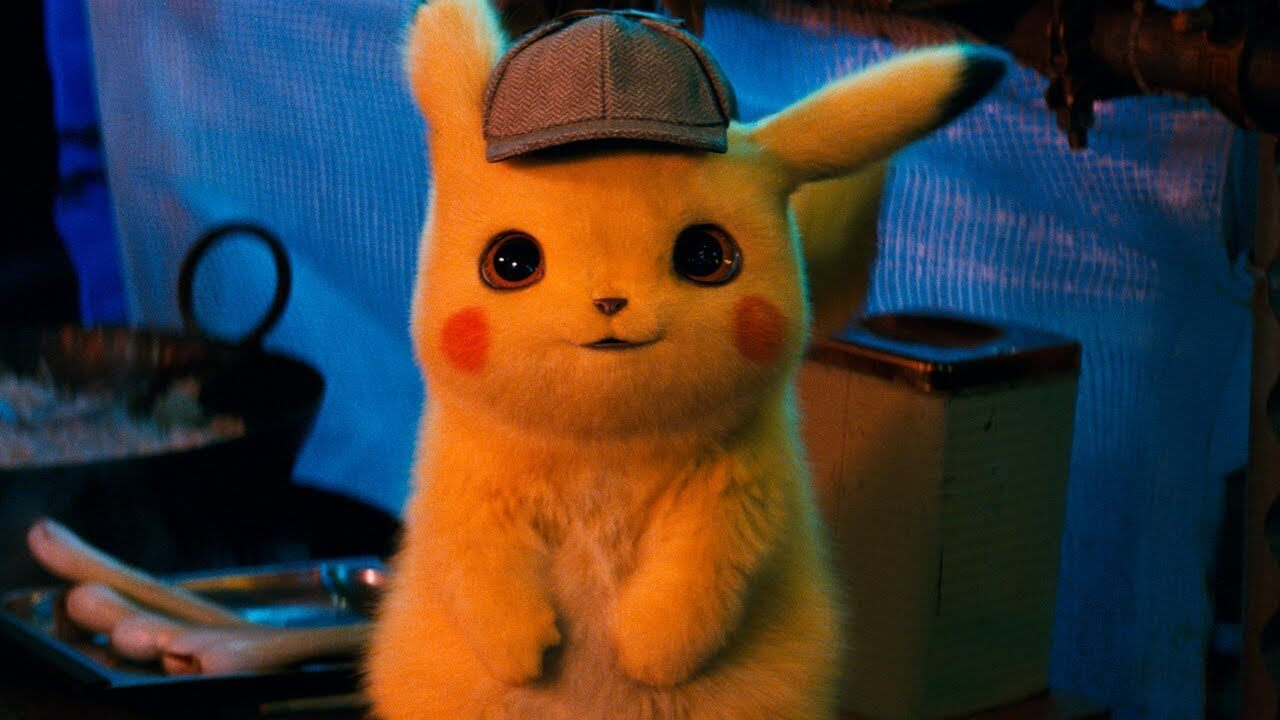 Get an Exclusive Detective Pikachu Trading Card at the Theater