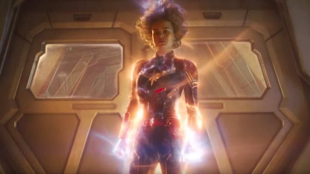 Marvel Releases Second Captain Marvel Trailer