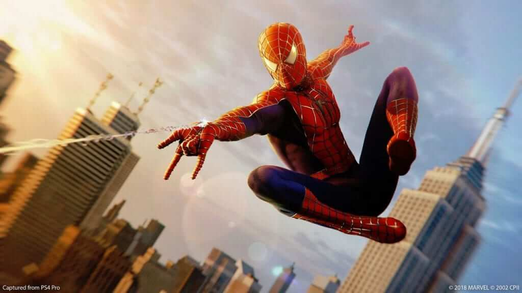 """Spider-Man's """"Sam Raimi"""" Suit Releases for PS4 Game"""