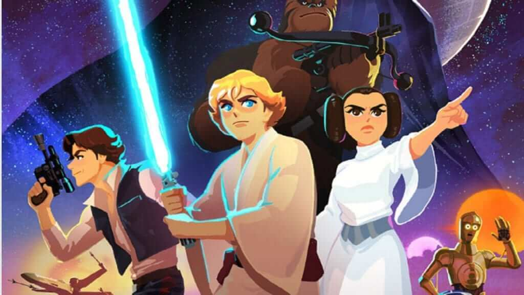 Star Wars Debut New Animated Shorts