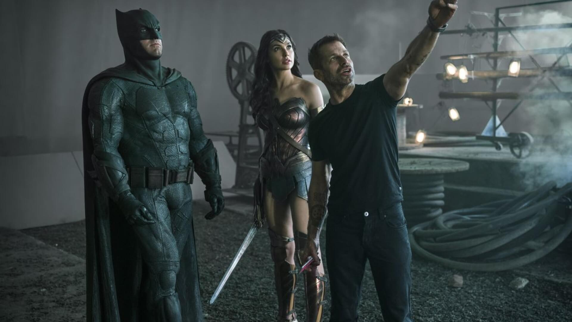 Director Zack Snyder Reflects on Ben Affleck's Batman