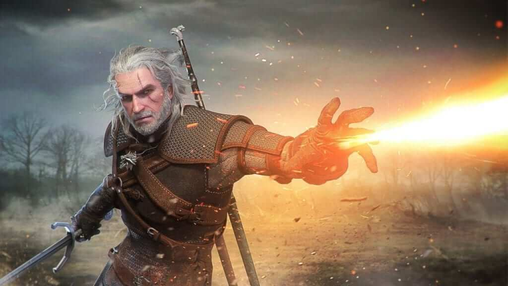 Geralt of Rivia Coming To Monster Hunter: World