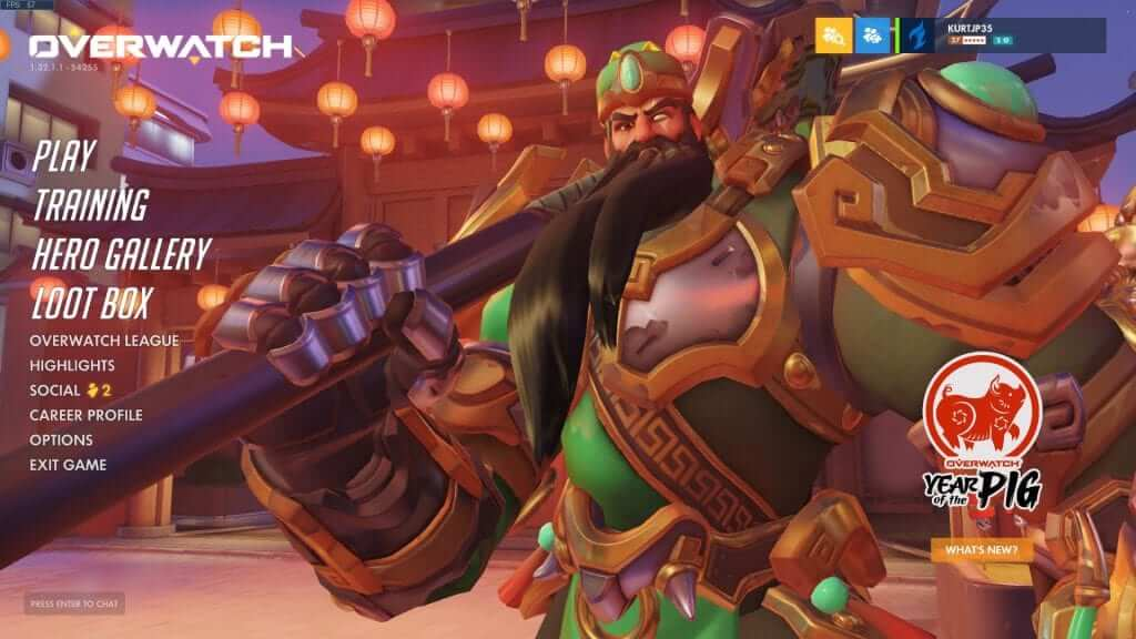 Overwatch: Lunar New Year - Year of the Pig Update is Live