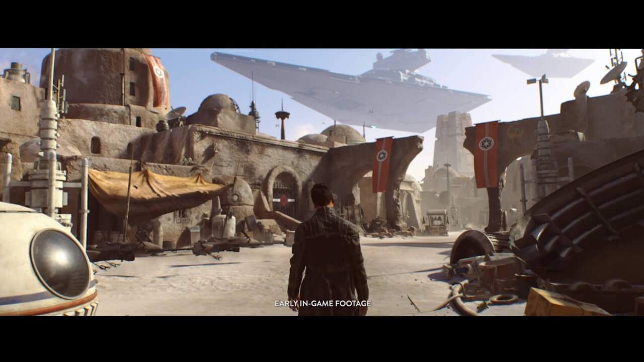 Highly-Anticipated Single Player Star Wars Game Canceled by EA