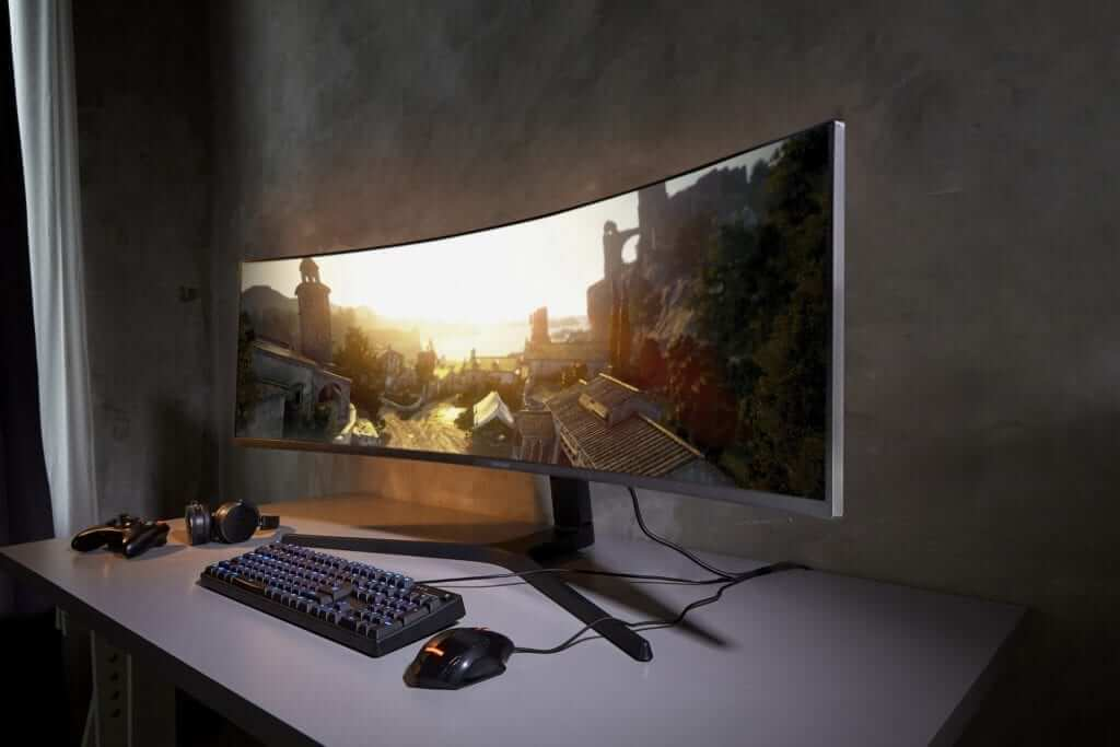 Samsung 49-inch Gaming Monitor Gets an Upgrade