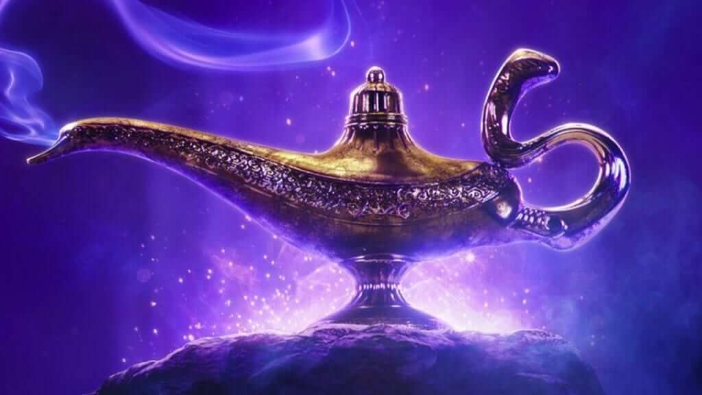 Aladdin: Will Smith's Blue Genie Revealed in New Promo Art