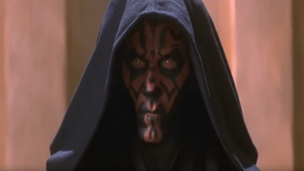 Darth Maul Actor Plays VR Game