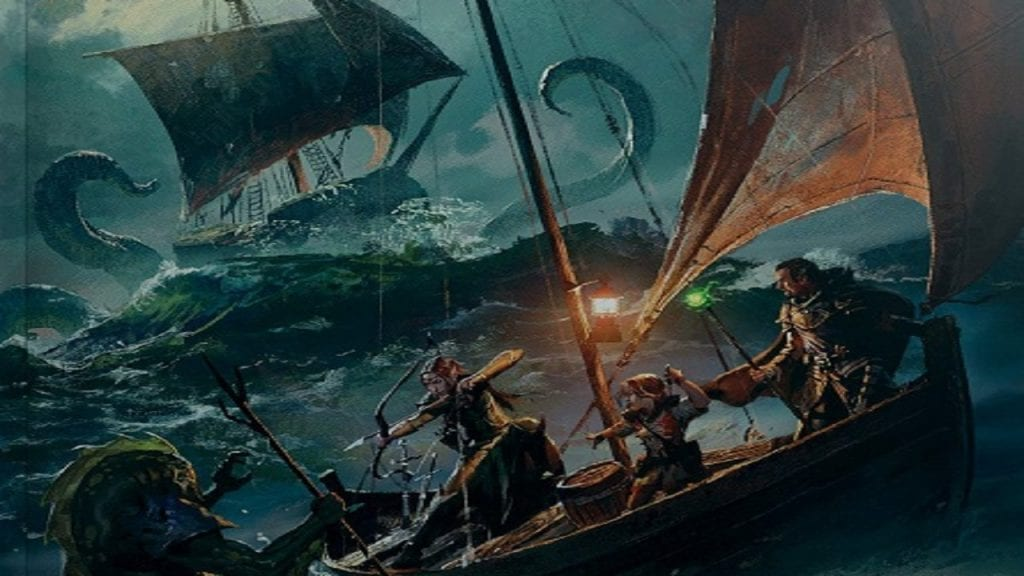 Sail the Seas with Dungeons and Dragons: Ghosts of Saltmarsh