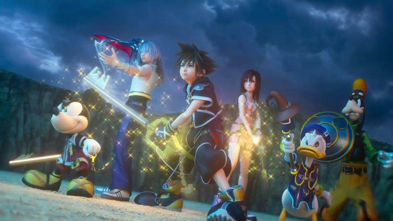 January's Best Selling Game is Kingdom Hearts 3