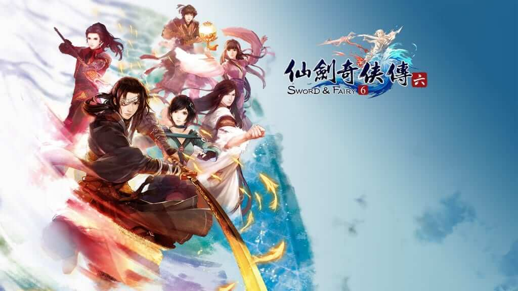 Chinese RPG Sword & Fairy 6 Coming to PS4