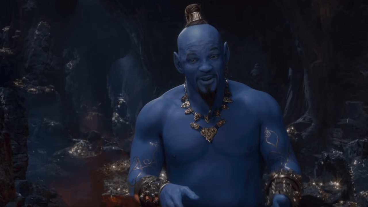 New Aladdin Trailer Reveals Will Smith as Genie