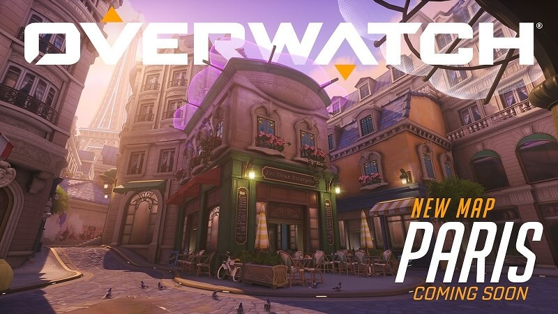 Paris is a New Overwatch Assault Map Now on the PTR