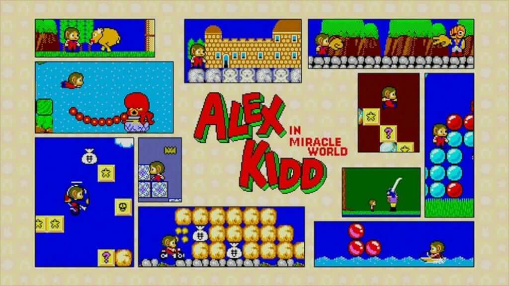 Alex Kidd and Gain Ground are Now on Nintendo Switch