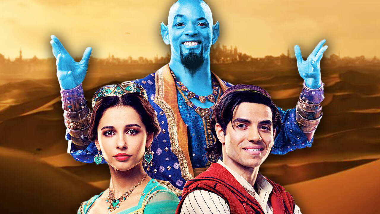 Aladdin Live-Action Official Trailer Released