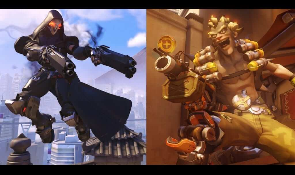 Overwatch Latest PTR Patch Notes - Reaper & Junkrat Buffed!