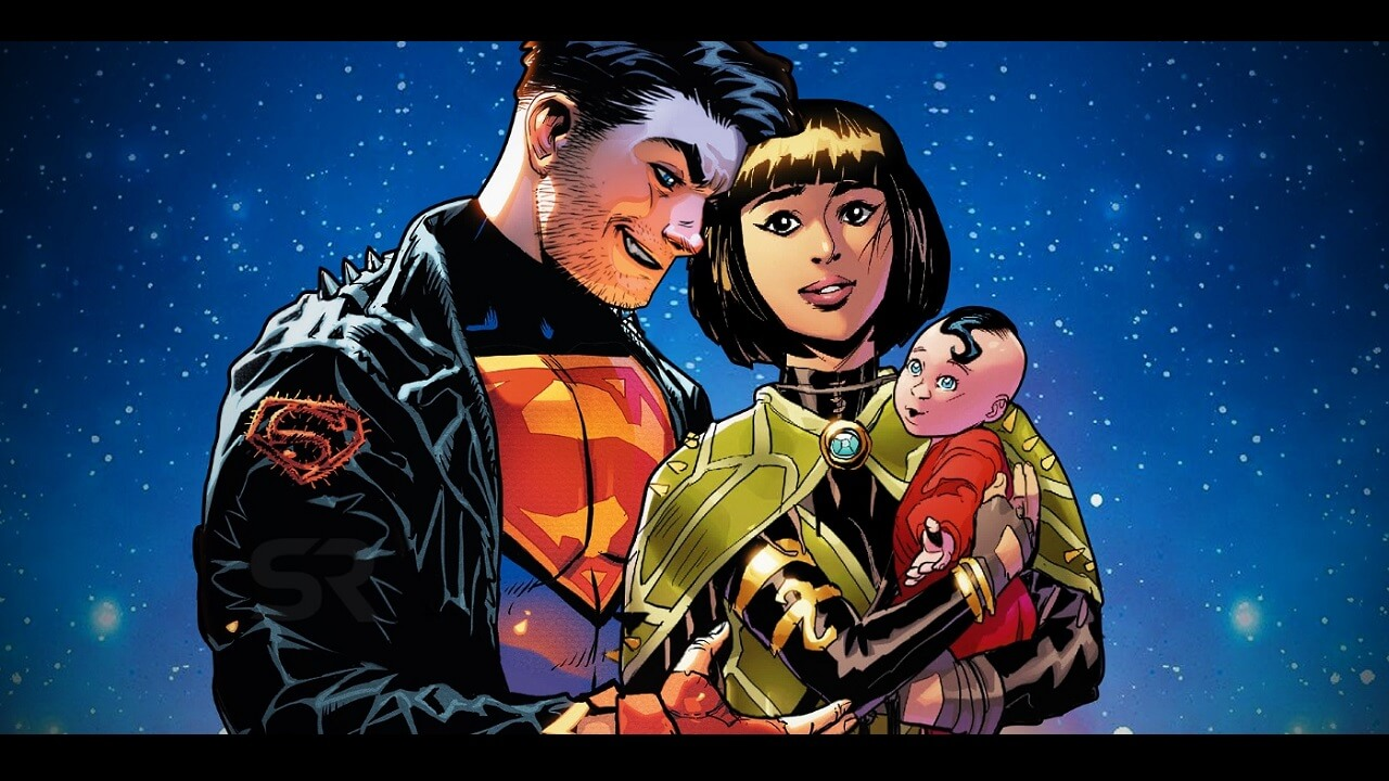 Young Justice Comics: Superboy Returns with a Wife and Kid