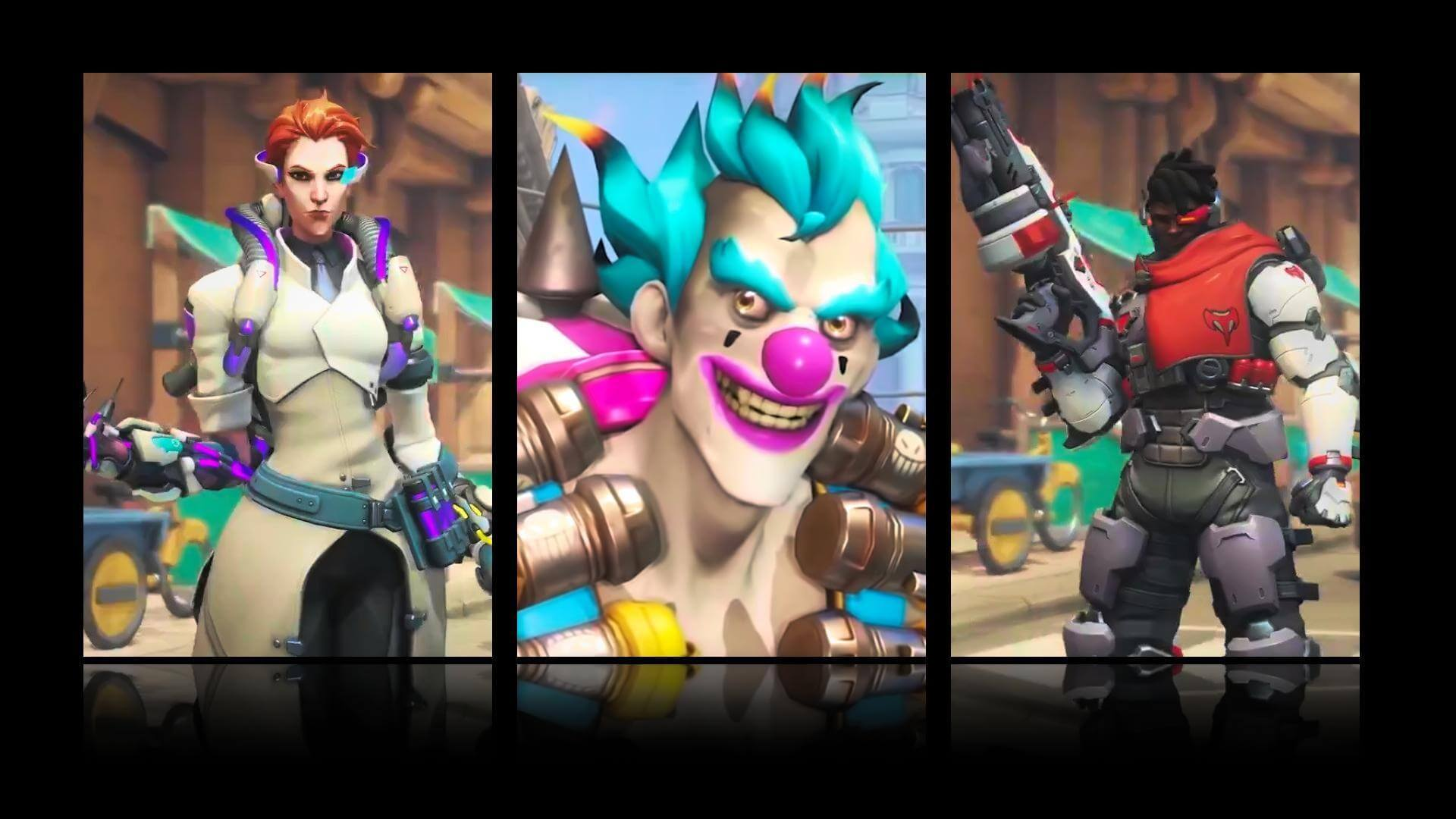 All of the Overwatch Storm Rising Skins Revealed So Far