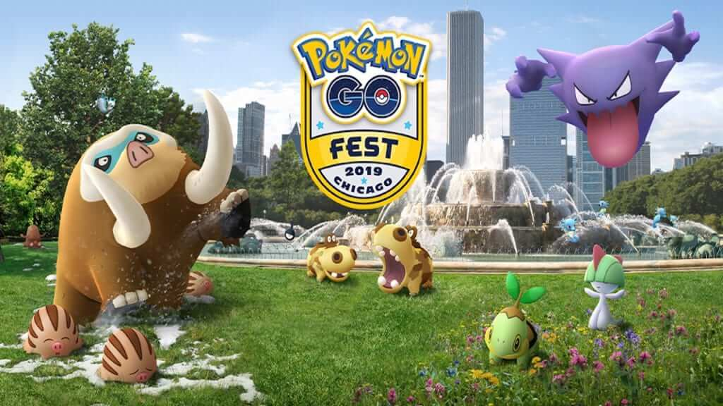 Three Cities Mark Pokemon GO Fest 2019