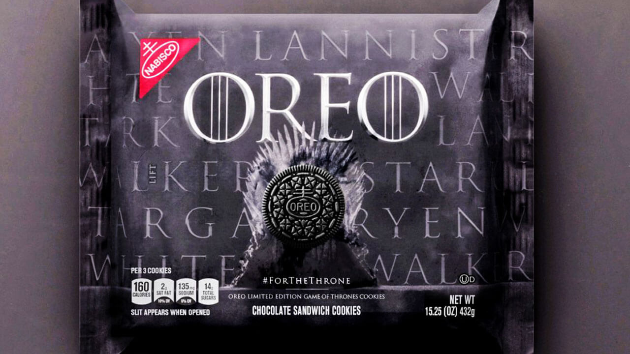 Game of Thrones Oreos Now Available