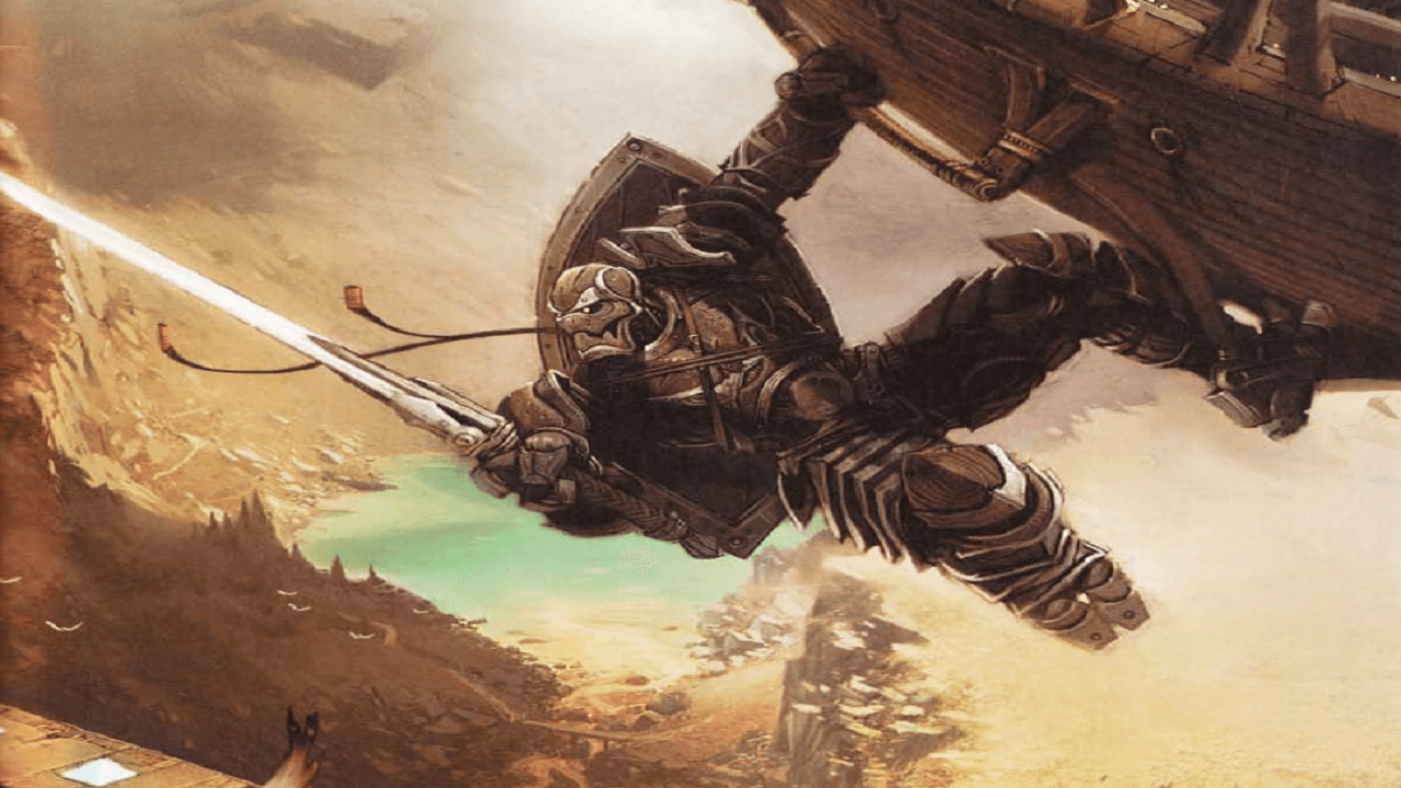 Dungeons and Dragons Teases An Eberron Hardcover Book for 5th Edition