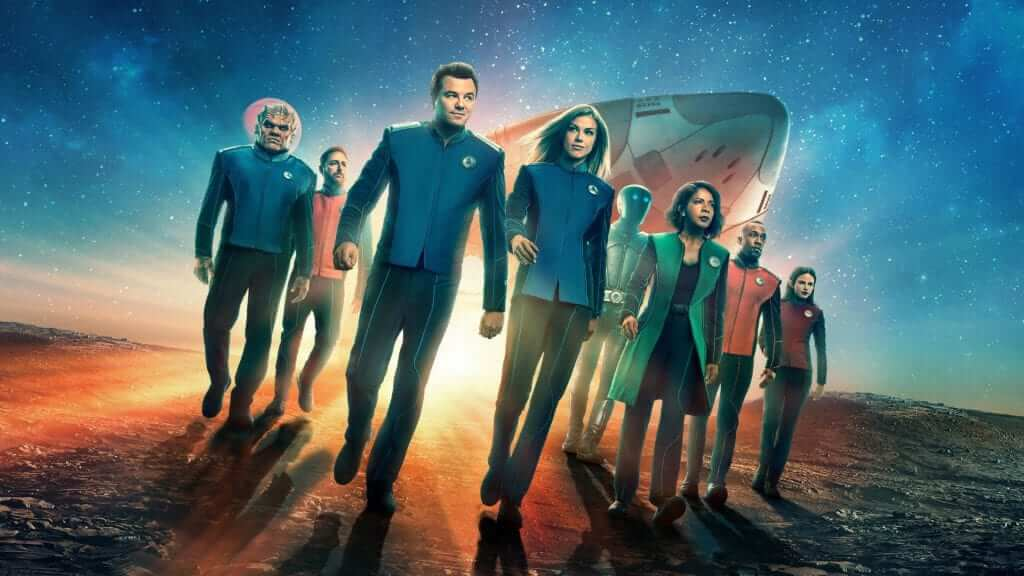 'The  Orville' Leads to Love As Co-Stars Tie The Knot