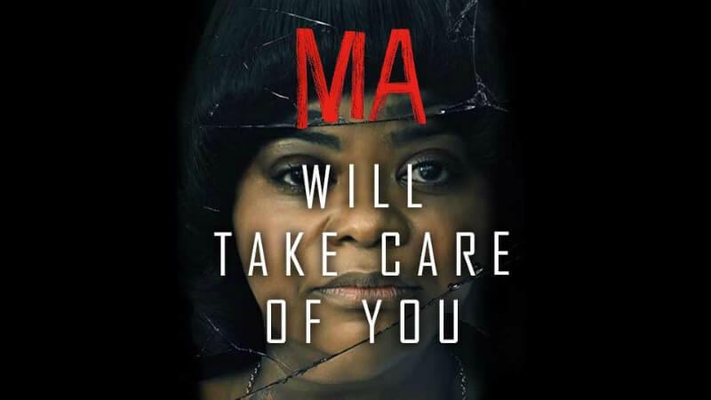 Octavia Spencer staring in Ma poster