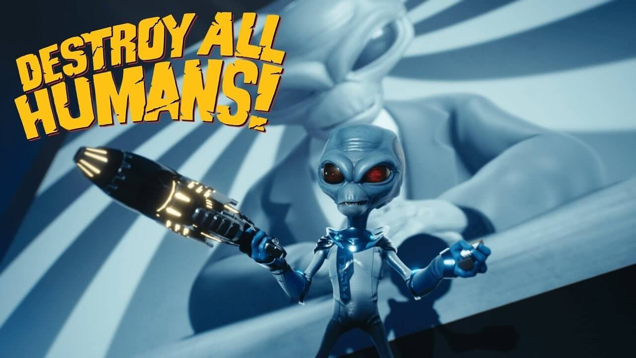 Destroy All Humans Remake Coming 2020