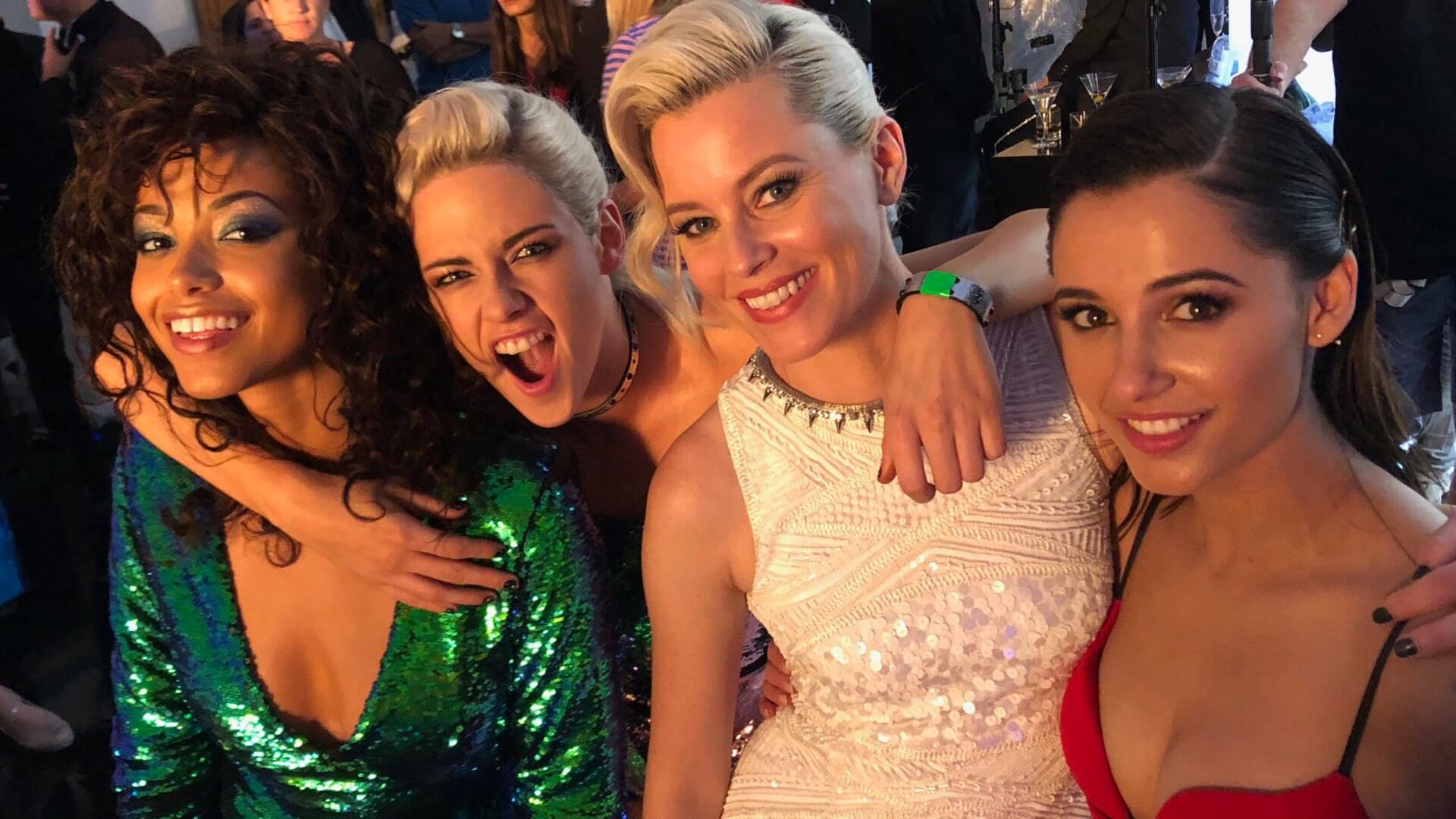 Morning, Charlie! First look at the Charlie's Angels reboot