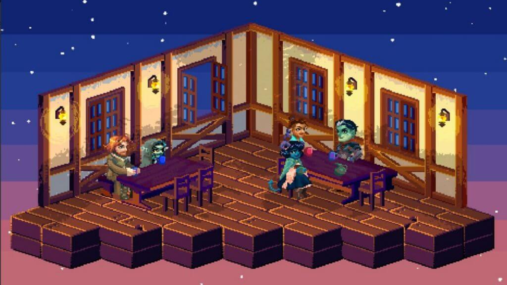 Here's What Critical Role Would Look Like as a Classic RPG Video Game