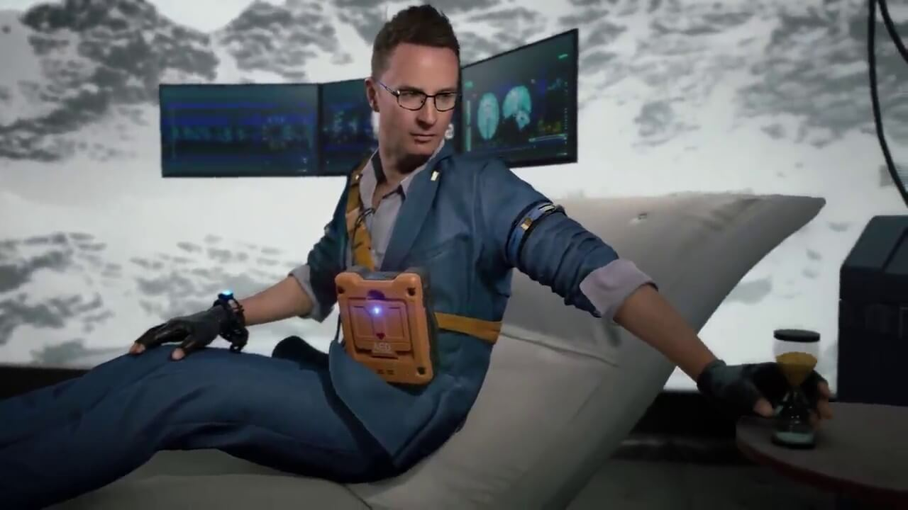 Respect this 'Heartman' cutscene to be taught more about 'Dying Stranding'