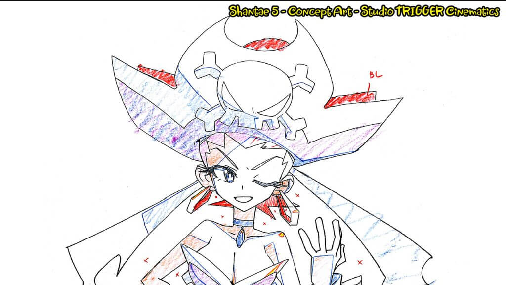 Shantae 5 Will Have Opening Animation by Studio Trigger