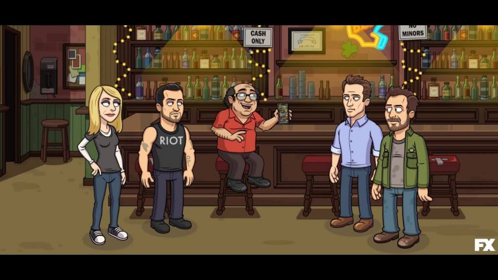 It's Always Sunny in Philadelphia - The Gang Goes Mobile Review