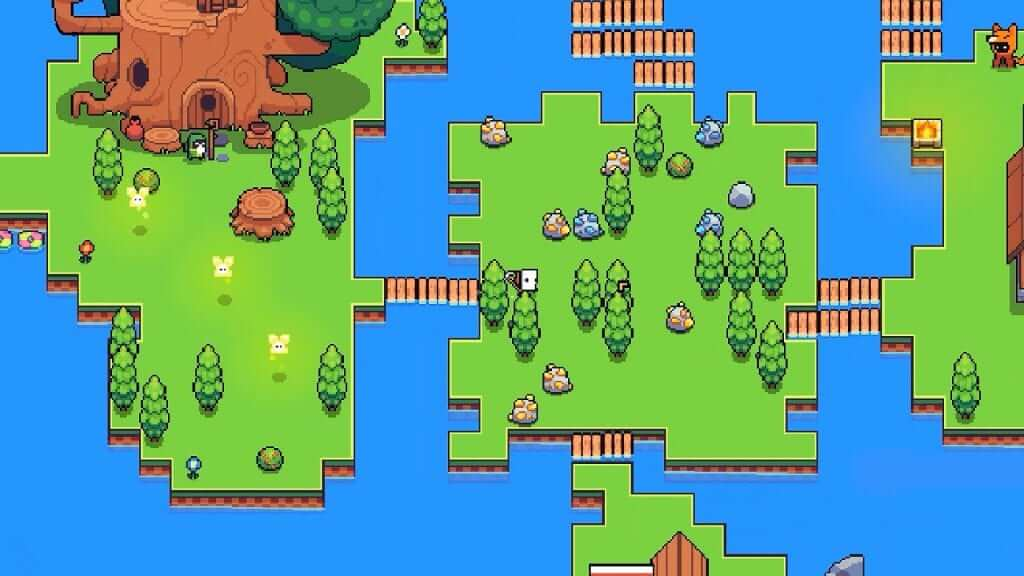 Forager Getting Retail Release on PS4 and Switch